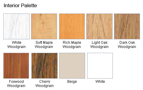 Replacement Window Color Options Woodgrain Windows