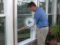 window world : : Dropping Sash Video