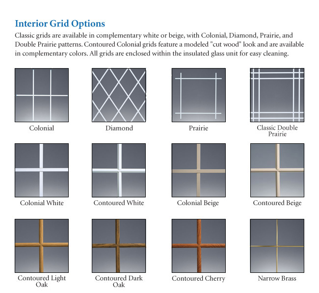 Replacement Interior Grids Replacement Windows Grids
